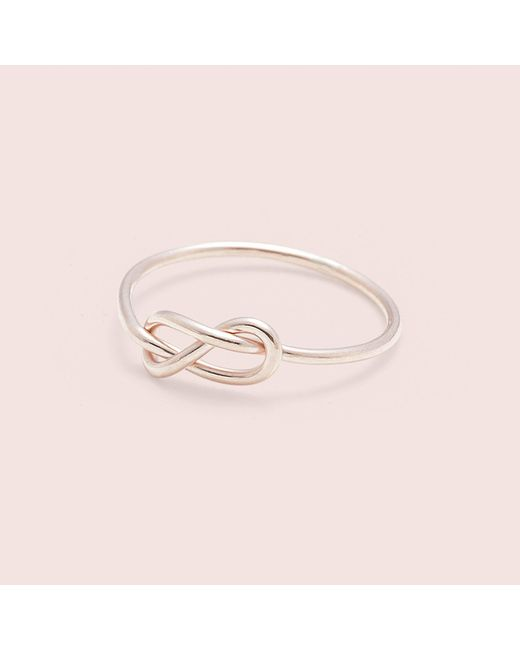 Erica Weiner - Pink Infinity Midi Ring (rose) - Lyst