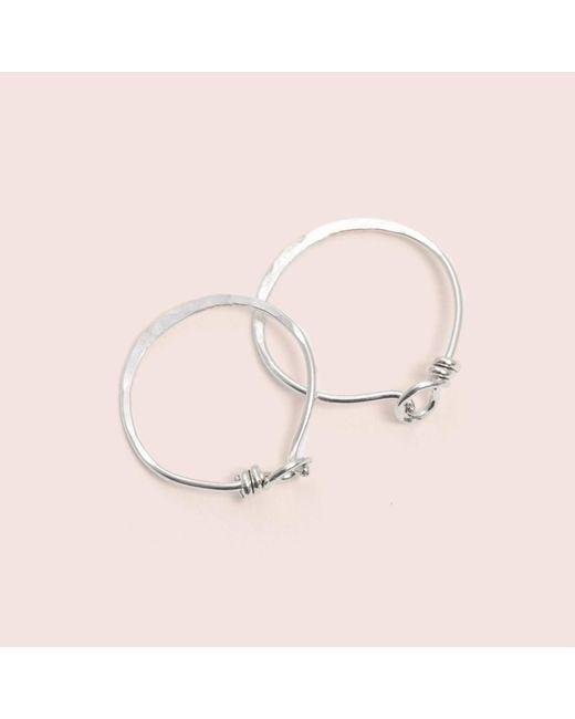 Erica Weiner | Metallic Roman Earrings (silver) | Lyst