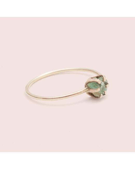 Erica Weiner - Multicolor Rough Gem Ring (emerald) - Lyst