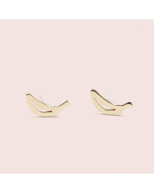 Erica Weiner | Yellow Fruit Studs (banana) | Lyst
