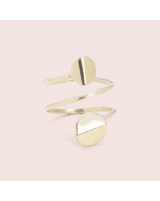 Erica Weiner | Metallic Orbit Spiral Ring | Lyst