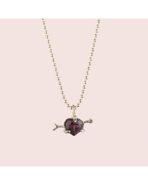 Erica Weiner | Red Cupid Necklace | Lyst