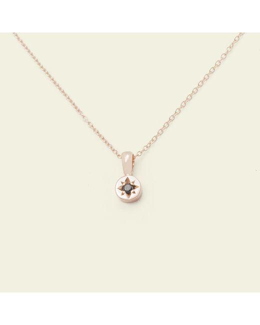 Erica Weiner | Metallic Gypsy Spark Necklace (14k Rose Gold) | Lyst