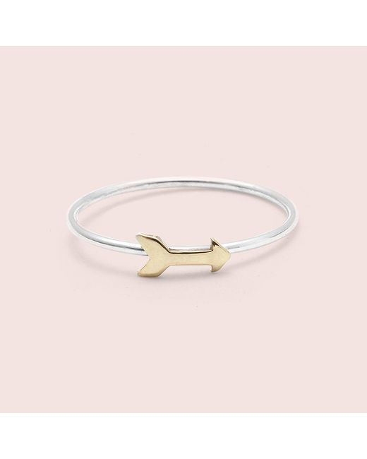 Erica Weiner | Metallic Arrow Ring | Lyst