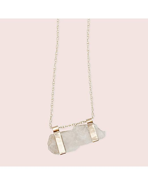 Erica Weiner - Metallic Moonstone Campaign Necklace - Lyst