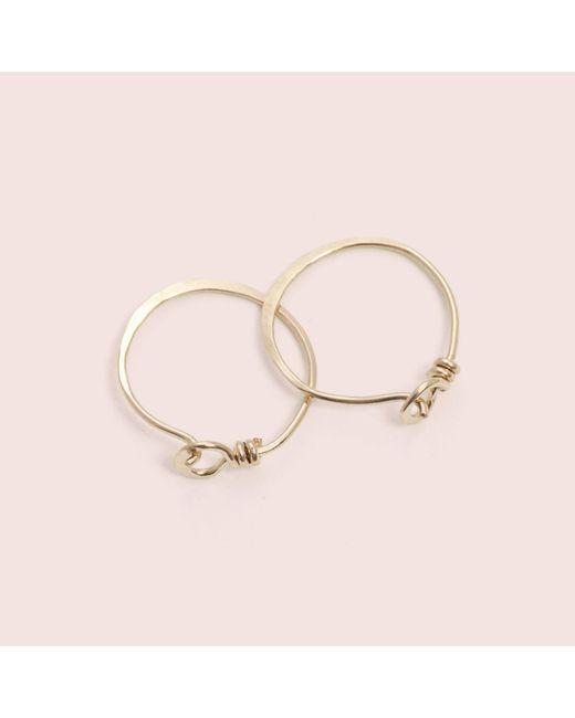 Erica Weiner - Yellow Roman Earrings - Lyst