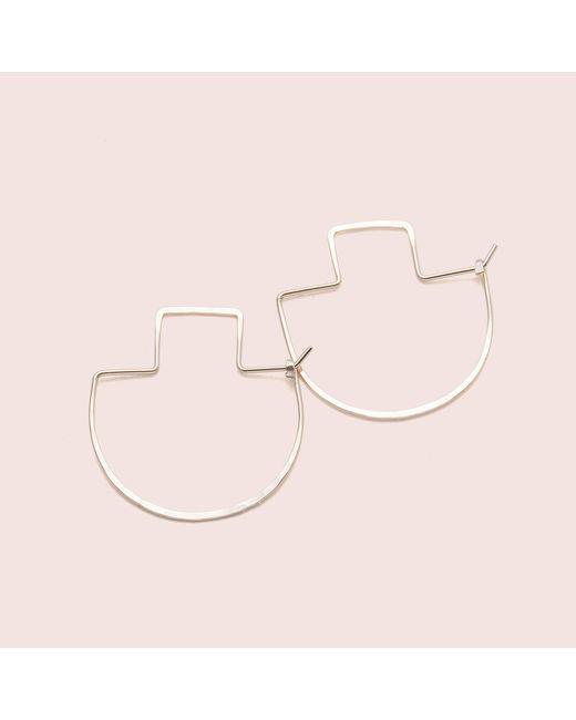 Erica Weiner | Yellow Fibula Earrings | Lyst