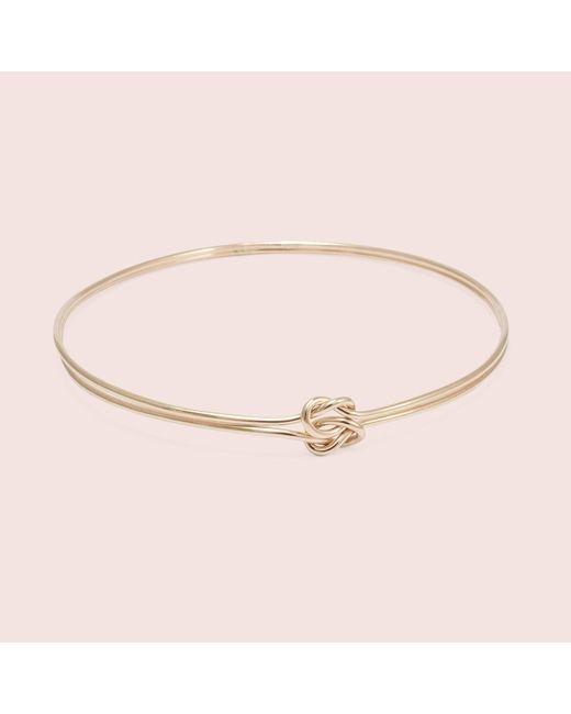 Erica Weiner - Pink Lover's Knot Bracelet (rose) - Lyst