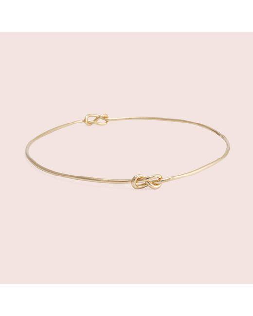 Erica Weiner - Metallic Infinity Knot Bracelet - Lyst