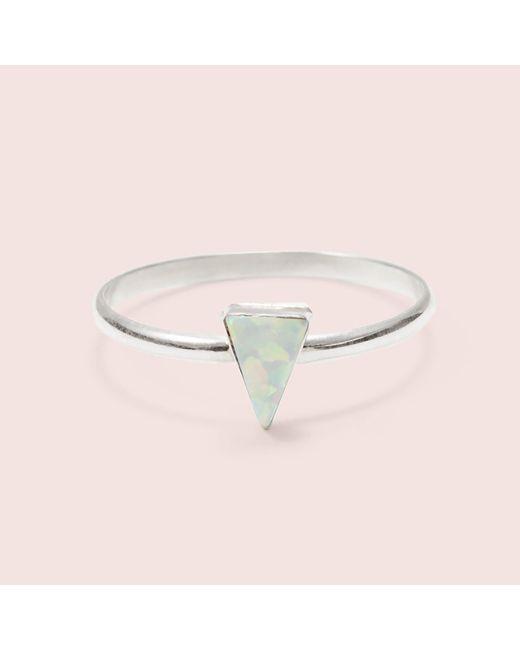Erica Weiner - White Isosceles Opal Ring - Lyst