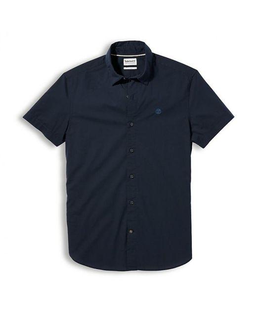 Camisa manga corta Eastham River Timberland de hombre de color Blue