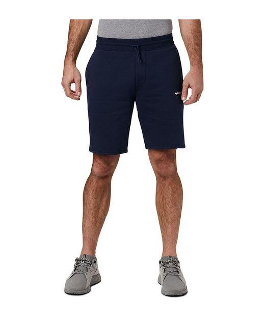 Short M Logo Fleece Columbia de hombre de color Blue