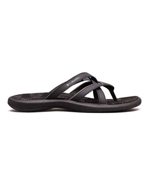 Sandalias de piel Kambi II Columbia de color Black