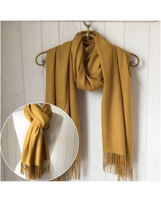 Etsy White Wool Blend Mustard Pashmina/shawl Wrap/ Woollen Wedding Wedding
