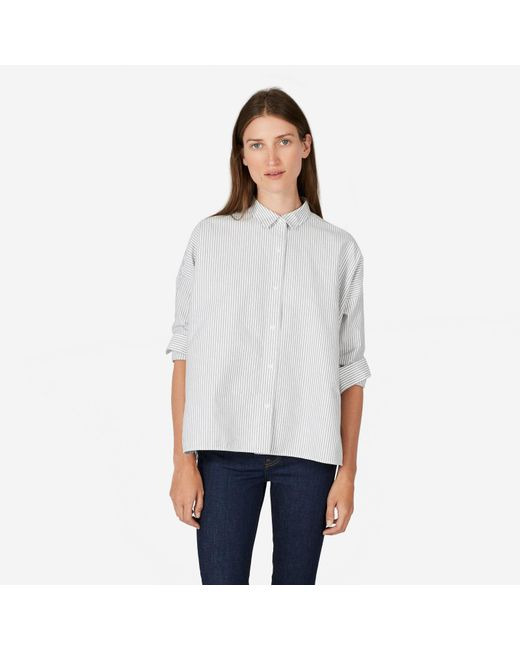 Everlane - White The Japanese Oxford Square Shirt - Lyst