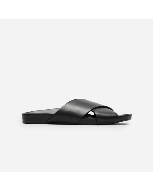 Everlane   Black The Form Crossover Sandal   Lyst