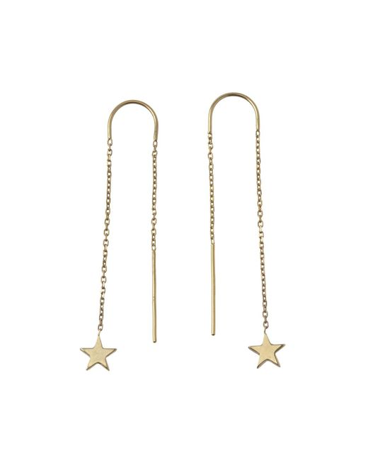 Winifred Grace | Metallic Star Threaders | Lyst