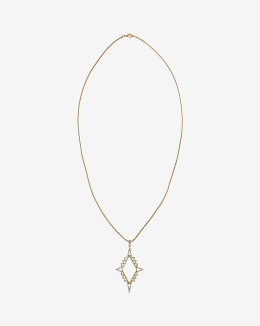 Express | Metallic Star Glacier Pendant Necklace | Lyst
