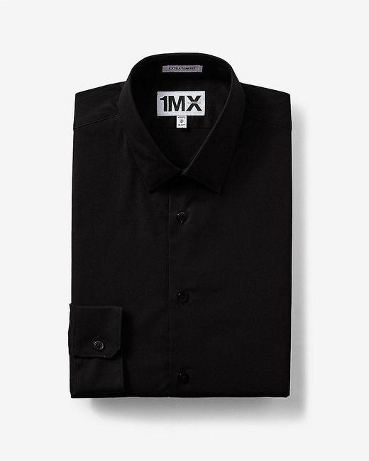 Express | Black Slim Fit 1mx Shirt for Men | Lyst