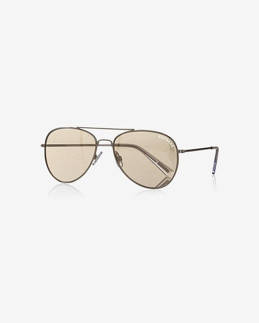 Mirrored Aviator Sunglasses For Men
