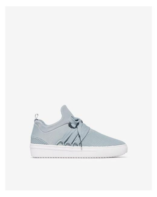 305913d4a3b Express Steve Madden Lancer Sneakers in Blue - Lyst