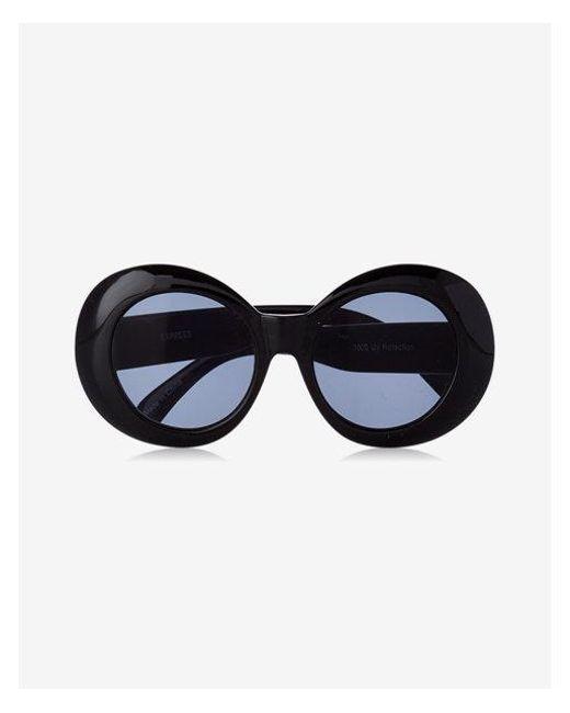 lyst express asterix sunglasses in black