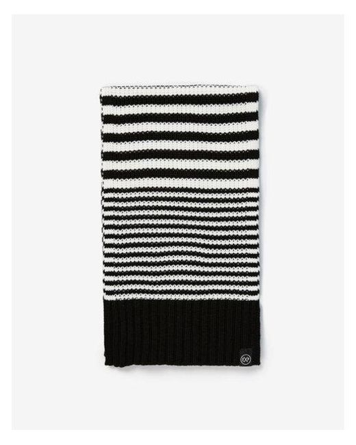 3751abd188e57 Express Feeder Stripe Scarf in Black for Men - Lyst