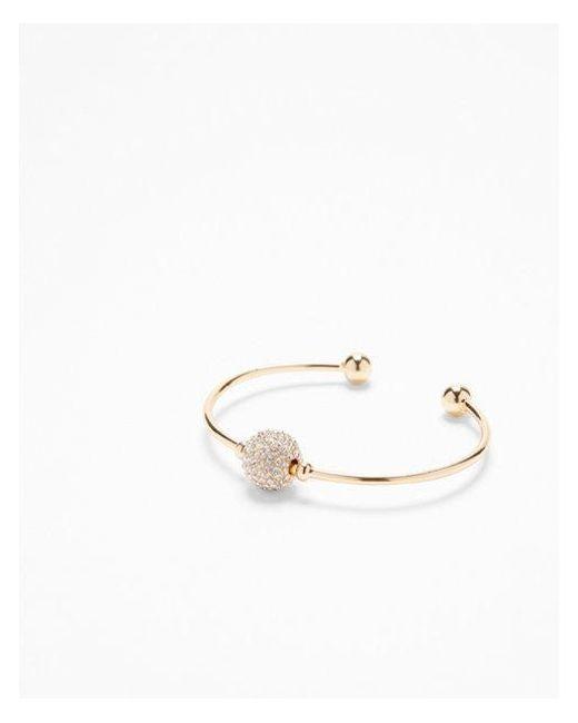 Express - Metallic Fireball Cuff Bracelet - Lyst