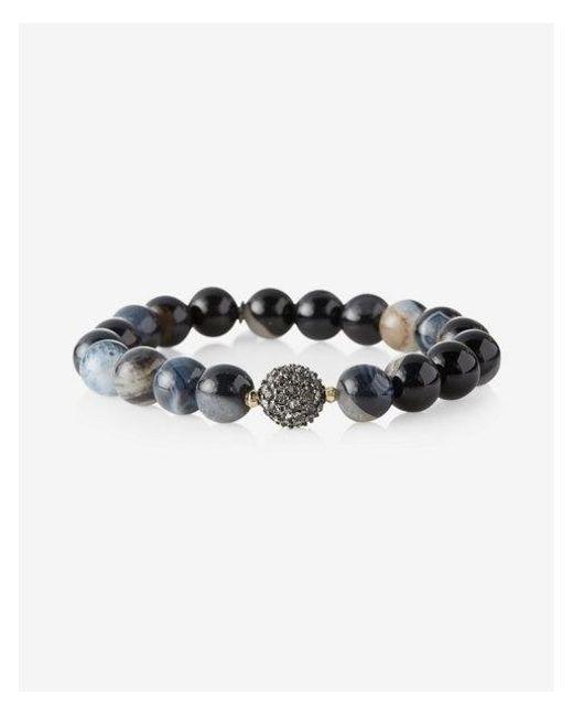 Express | Black Beaded Stretch Bracelet | Lyst