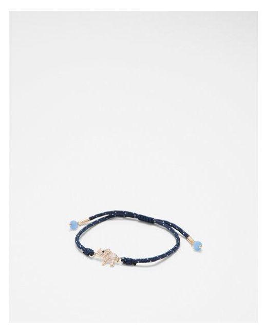 Express - Blue Elephant Pull-cord Bracelet - Lyst