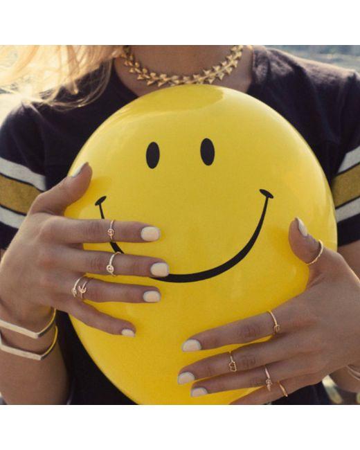 Bing Bang | Yellow Trident Link Choker | Lyst