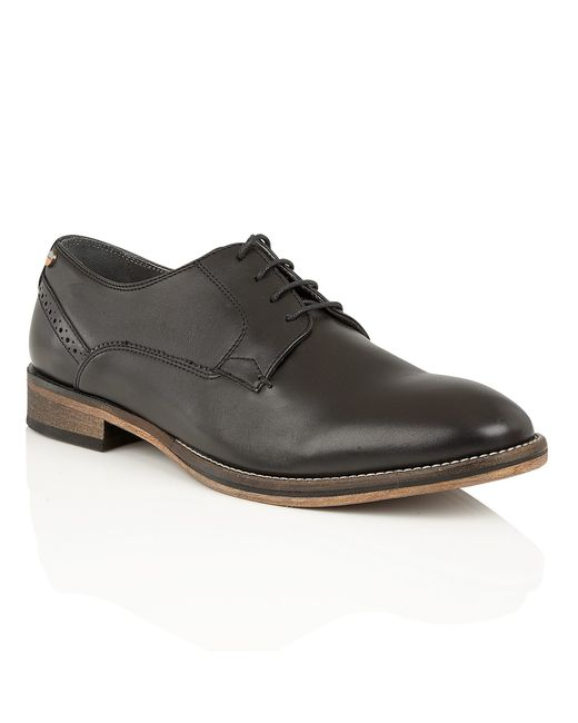 Frank Wright | Merton Oxford Shoes In Black Leather for Men | Lyst