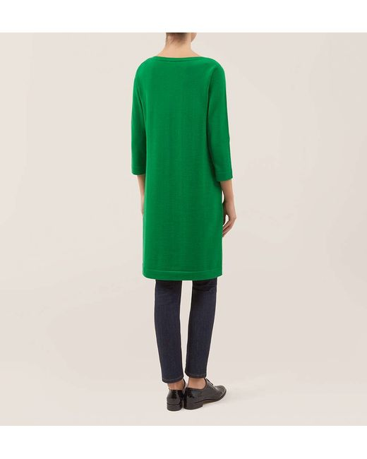 Hobbs | Green Nancy Dress | Lyst