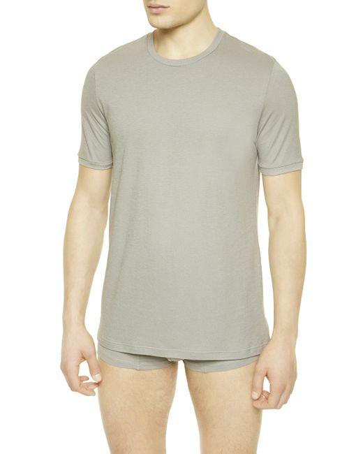 La Perla   Gray Crew-neck T-shirt for Men   Lyst