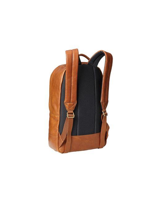 Fossil | Brown Estate Ledger Backpack for Men | Lyst