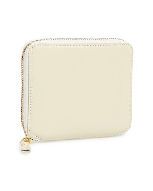 Comme des Garçons | White 'classic' French Wallet for Men | Lyst