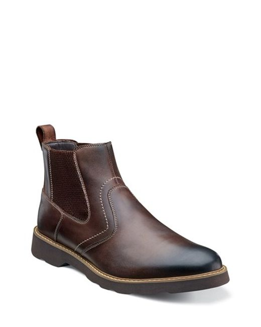 Florsheim | Brown 'casey' Chelsea Boot for Men | Lyst