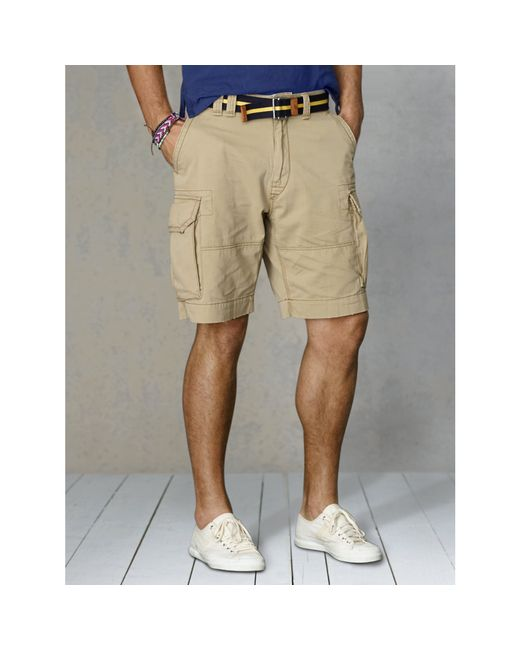 Polo Ralph Lauren | Natural Gellar Classic Cargo Short for Men | Lyst