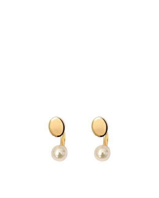 Chloé | Metallic Darcey Round Pierced Earrings | Lyst