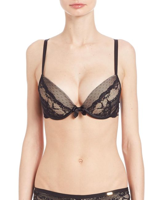 Chantelle | Black Idole Padded Bra | Lyst
