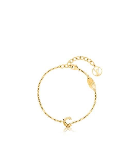 Louis Vuitton | Metallic Lv & Me Bracelet, Letter C | Lyst