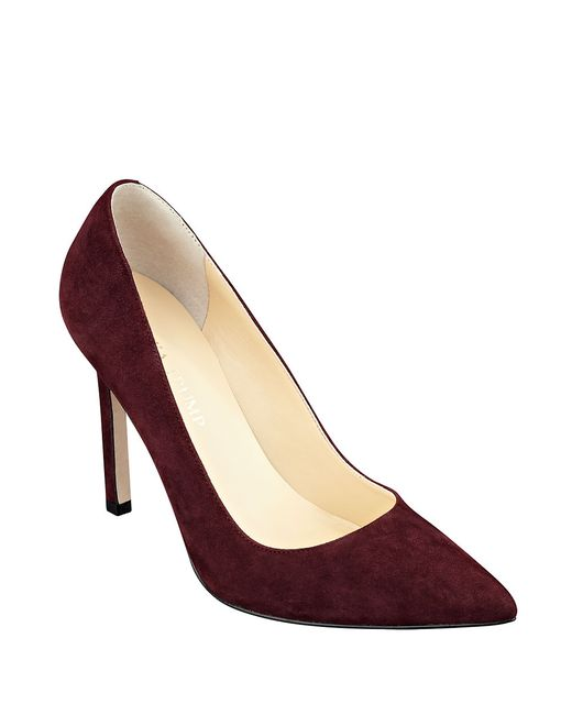 Ivanka Trump | Red Carra Pointed-toe Pumps | Lyst