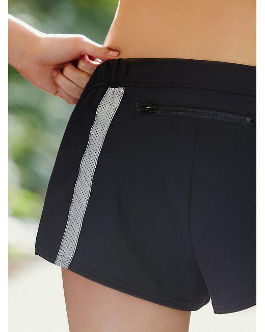 Free People | Black Hot Trot Layered Shorts Hot Trot Layering Tank | Lyst