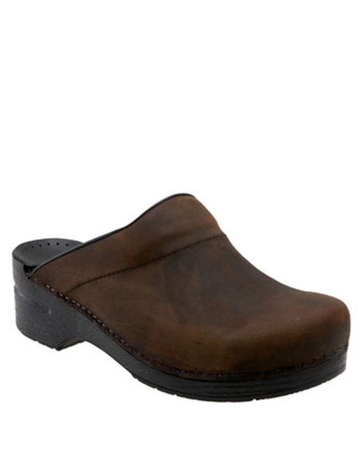 Dansko | Black 'karl' Slip-on for Men | Lyst
