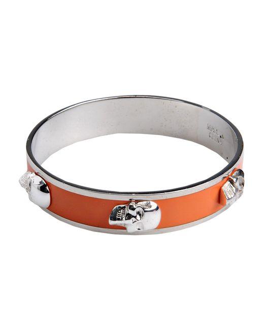 Alexander McQueen | Orange Bracelet | Lyst