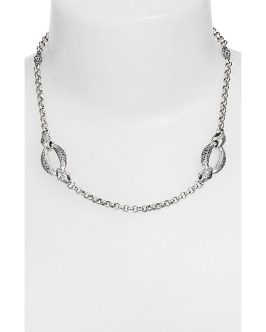 Konstantino | Metallic 'classics - Daphne' Link Necklace | Lyst