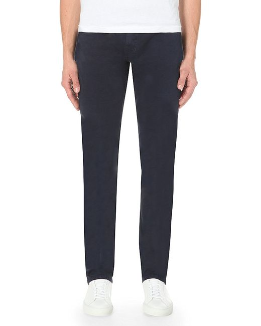 PAIGE | Blue Federal Slim-fit Tapered Jeans for Men | Lyst