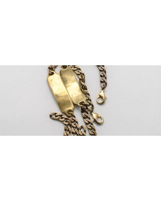 Kaufmann Mercantile | Metallic Brass Id Bracelet | Lyst