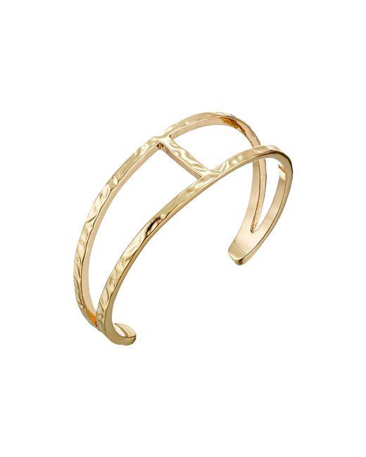 Sam Edelman | Metallic Crinkle Metal Cuff Bracelet | Lyst