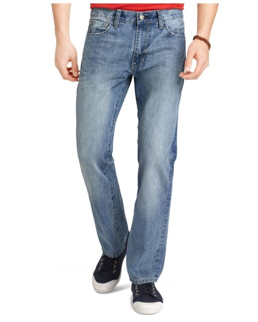 Izod | Blue Regular-fit Jeans for Men | Lyst